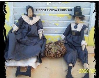 CustomerAppreciationSale Primitive Thanksgiving Skinny Pilgrims