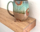 Extra large pottery mug, handmade mug, coffee mug, rustic, turquoise, aqua, pottery, best seller, top selling gifts, birthday gifts for her