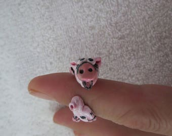 Pet Pig Handmade Clay Ring Made to Look like your Pig by Shannon Ivins
