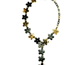 Horn Chain Necklace - Q12809