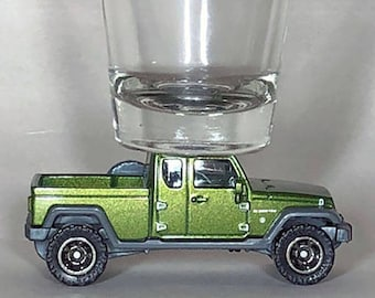 The ORIGINAL Hot Shot, Shot Glass, Jeep Gladiator, Matchbox Car