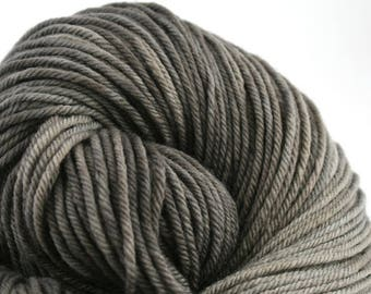 Windham 100% US Merino Hand Painted worsted weight 220 yds 201m ~4oz 113g Charred Coal