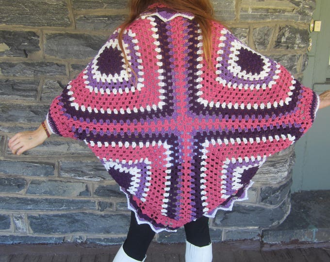 HIPPIE COCOON CARDIGAN, ready to ship, Womens sweater,cocoon poncho, Plus size cardigan, coocon shrug, oversize sweater, plus size shrug