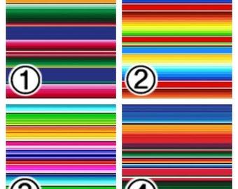 "Printed Vinyl, Patterned Vinyl, Vinyl Prints, Sheet size 12""x12"", Heat Transfer Vinyl, Vinyl Sheets, Serape Mexican Blanket Vinyl SKU 0281"