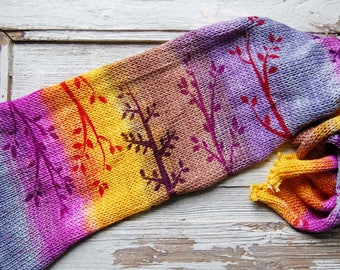 Double Knit sock blank-Forest