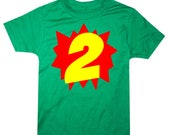 Superhero 2nd Birthday Shirt Boys Second Birthday Boys 2nd Birthday Shirts Boy 2nd Birthday Outfit 2nd Birthday Shirt Boy Superhero Birthday