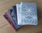 Small Vintage Kimono Silk Notebook with Soft Covers