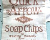 Vintage Style Laundry Soap Bag