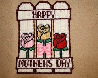 Happy Mother's Day fence wall hanging