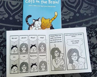 Cats on the Brain - Original comics about cats