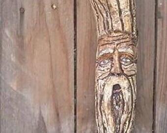 Carved Wood Spirit - Tree Man