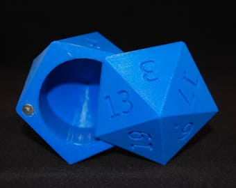 3D Printed Dice Box