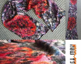 Hand-dyed yarn, Indie dyed yarn, hand dyed yarn EXPLORATION --ready to ship-- Hand-painted Sock Blank sparkle merino/ nylon/stellina