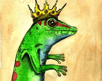 yes... The DAY GECKO KING