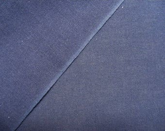 Japanese sashiko cotton fabric navy/indigo blue