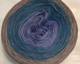 gradient tied cotton 100g 3-ply light fingering Calm Me v.2