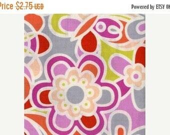 SALE FAT QUARTER Only Erin McMorris Weekends Kaleidoscope in Pink em20-pink Fat Quarter Cotton Quilt Fabric (fq077)