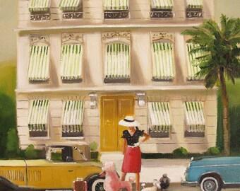That Summer In Monte Carlo. Art Print