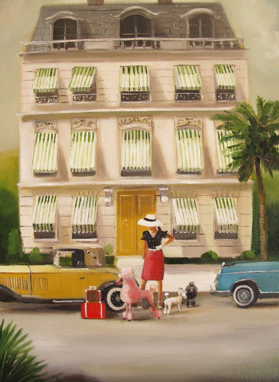 That Summer In Monte Carlo. Art Print