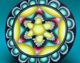 Polymer Clay Flower Cane -'Spice Garden' series (18B)