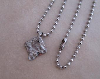 viva la vida unisex necklace stainless steel soldered copper