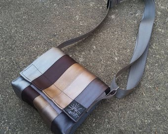 Seatbelt Bag - Seat Belt Purse - Recycled Bag