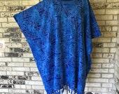 Plus Size Premium Rayon Celtic Design Tunic