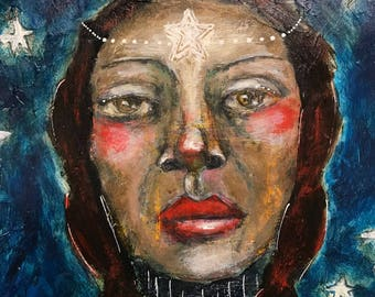 Wonder Paint, Episode 4 with mixed media folk artist Mystele