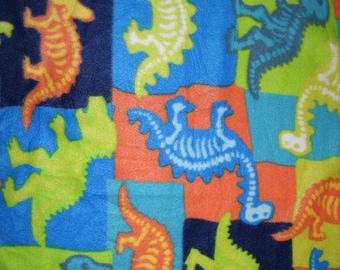 Dinosaur Xray Blanket