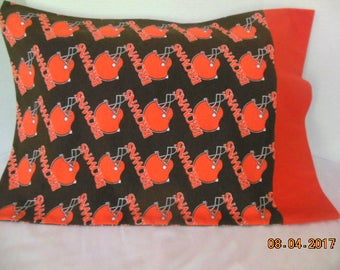 Cleveland Browns Flannel  Pillowcase