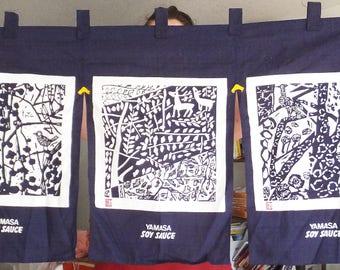 Nice Noren Curtain Yamasa Soy Sauce Promotional Curtain Japanese Curtain Japanese  Decor Asian Kitchen Decor Doorway Curtain
