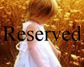 Reserved for Patty Z