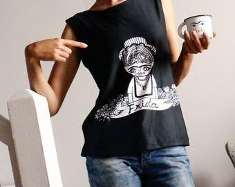 Frida - Tank top - Cara Carmina - black