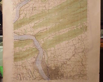1946 Harrisburg, PA Topography Map