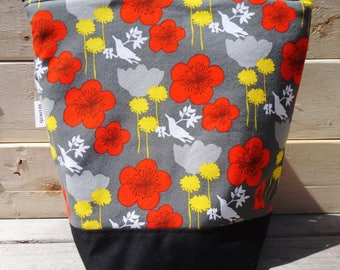 Insulated Lunch Bag - Birds