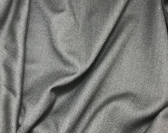Taupe Gray - WOOL Suiting Fabric 1/4 yard remnant
