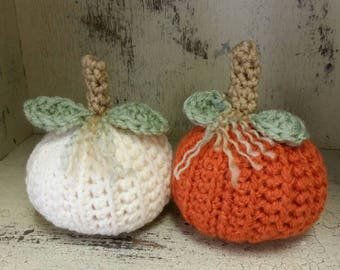 Mini Pumpkin - Scented, Crocheted, Pumpkins, Pumpkin, Scented Pumpkin, Housewarming, Autumn, Thanksgiving, Halloween