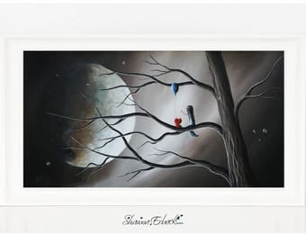 A Road To Healing Starts With Memories - LAST ONE - Fantasy - Limited Edition Print - Canvas - Archival Giclee Print - Signed - Erback Art