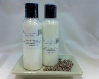 Lavender Goat milk lotion 4 oz