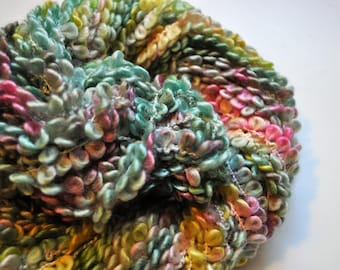 Ewe Love Rainbows.  Super Bulky Handpainted Novelty Yarn