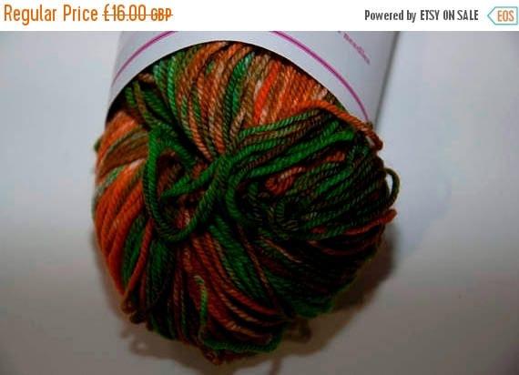 Christmas In July Hand-Dyed Yarn in Leprechaun Sock Yarn Merino/Cashmere/Nylon Lush Base