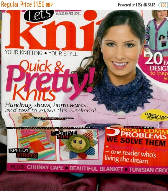Christmas In July Let's Knit Knitting Magazine Issue 39 February 2011