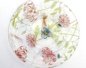 Handmade fused glass dish...