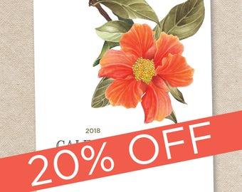 2018 Desk Calendar with stand/CD case ELIZA