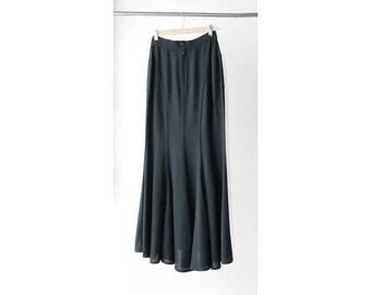 1980s Thierry Mugler Fishtail Skirt