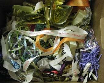 Bottom of the Gift Wrapping Bows Ribbons Craft Drawer Lot