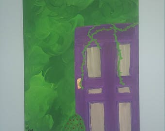 Magical Purple Door