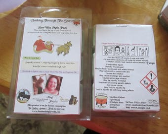 Dashing Through The Snow Scented Soy Wax Melts Pack