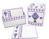 PATTERN: Lovely Lavender Set in Plastic Canvas