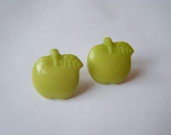 Earrings Apple green ♥ ♥
